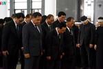 Các đoàn đại biểu quốc tế viếng Chủ tịch nước Trần Đại Quang