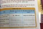 Chuyện buồn về viết vào sách giáo khoa
