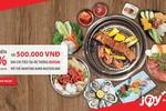 Thưởng thức ẩm thực châu Á dịp 20/10 và nhận hoàn tiền từ Maritime Bank