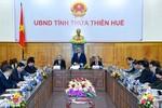 Thủ tướng kiểm tra công tác chuẩn bị Tết Nguyên đán tại Thừa Thiên - Huế