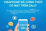 VinaPhone cung cấp tiện ích chăm sóc khách hàng toàn diện trên Zalo