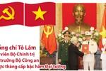 Đồng chí Tô Lâm được thăng cấp bậc hàm Đại tướng