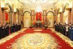 Tổng Bí thư, Chủ tịch nước chúc Tết lãnh đạo, đồng bào và chiến sỹ cả nước