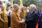 Tổng Bí thư, Chủ tịch nước thăm hai Đại tăng thống Campuchia