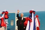 Điện cảm ơn của Tổng Bí thư, Chủ tịch nước gửi Tổng Bí thư, Chủ tịch nước Lào