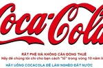"""""""Coca Cola giống người đi ô tô, ở nhà lầu vẫn xin trợ cấp nghèo đói?"""""""