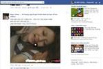 Facebook bỗng nhiên xuất hiện nhiều ảnh, link có nội dung đồi trụy
