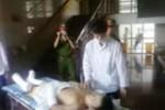 """Thanh niên nhảy lầu chuyển viện: Công an """"vây kín"""" BV ĐK Ninh Bình"""