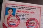 CSGT Hà Nội phát hiện lái xe vi phạm giao thông có... thẻ phóng viên