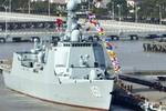 Tranh chấp với láng giềng, TQ gia tăng hoạt động đóng tàu khu trục