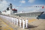 Hạm đội Nam Hải của Trung Quốc đã biên chế tàu hộ vệ tên lửa Tam Á