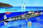 Tàu ngầm hạt nhân Arihant Ấn Độ sẽ tiến hành chạy thử lần cuối