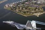 Mỹ lần đầu tiên cử 6 máy bay F-22 tham diễn không chiến ở Đông Nam Á
