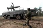 Quân khu miền Tây Nga tiếp nhận tên lửa Iskander-M