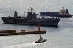 Tàu chỉ huy đổ bộ USS Blue Ridge (AGC-2) Mỹ đến thăm, diễn tập ở TQ