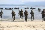 Mỹ-Philippines tổ chức diễn tập đổ bộ gần bãi cạn Scarborough