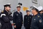 """Hải quân TQ thăm châu Âu để phô trương """"ngoại giao pháo hạm"""""""