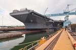Tàu sân bay Ford Hải quân Mỹ kiểm tra thành công máy phóng điện từ