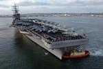 Báo Trung Quốc lo Hải quân Mỹ điều tàu sân bay mạnh hơn tới Nhật Bản