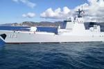 Hải quân Trung Quốc sử dụng tàu khu trục mới nhất tập trận ở Biển Đông
