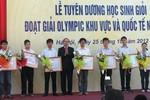 Chính phủ tặng bằng khen cho chủ nhân huy chương vàng Olympic