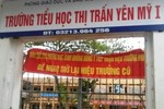 Chuyện hi hữu sát Hà Nội: Căng biểu ngữ đòi giữ lại hiệu trưởng!