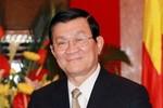 Chủ tịch nước Trương Tấn Sang gửi thư khen đội tuyển Olympic Toán