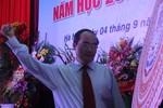 PTT Nguyễn Thiện Nhân đánh trống khai giảng tại trường ĐH Y Hà Nội