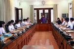 BT Bộ Y tế chia sẻ với các thủ khoa trường ĐH Y trong ngày khai giảng