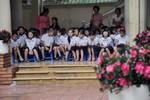 Hà Nội mưa lớn, học sinh khai giảng dưới …mái hiên