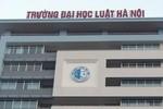 Bộ Tư pháp bất ngờ bổ nhiệm hiệu trưởng Đại học Luật Hà Nội