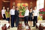 Lãnh đạo Hiệp hội chúc mừng Bộ trưởng Phùng Xuân Nhạ