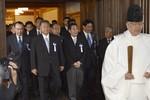 67 nghị sĩ Nhật Bản lại đến thăm đền Yasukuni