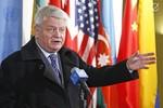 Liên Hợp Quốc xem xét phái lực lượng gìn giữ hòa bình tới Syria