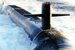 Tàu ngầm hạt nhân Mỹ cập cảng Busan Hàn Quốc