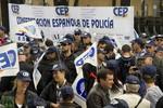 Tây Ban Nha: 3 ngàn cảnh sát biểu tình chống chính phủ