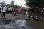 Dây điện rơi trước cổng trường, 2 học sinh thiệt mạng và 4 học sinh bị thương