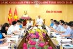 Chậm nhất năm 2020, tỉnh Hà Nam phải tự cân đối ngân sách