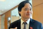 """Bộ trưởng Phùng Xuân Nhạ: """"Đã có chương trình đâu mà có sách giáo khoa!"""""""