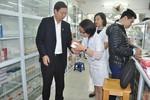 Kiểm tra nhà thuốc Bệnh viện Thanh Nhàn, Bệnh viện Phổi Hà Nội