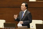Câu hỏi nào đang chờ Bộ trưởng Phùng Xuân Nhạ ở phiên chất vấn của Quốc hội?