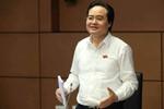 Bộ trưởng Phùng Xuân Nhạ: Đồng bào tái mù chữ là có
