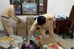 Hơn 1.000 hộp thực phẩm chức năng không rõ nguồn gốc bị thu giữ tại Nghệ An