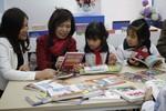 Thắp sáng tình yêu đọc sách cho học sinh Tiểu học Đồng Mai II với The Morning V