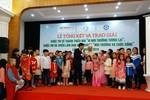 Cuộc thi vẽ tranh Vì môi trường tương lai xác lập kỷ lục Việt Nam