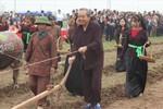 Phó Thủ tướng Trương Hòa Bình xuống đồng cày Tịch điền