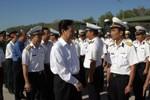 Thủ tướng Nguyễn Tấn Dũng thị sát 'lá chắn thép' Bastion trên biển