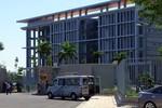 100 cảnh sát chữa cháy ở toà nhà UBND tỉnh Bà Rịa - Vũng Tàu