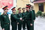Đại tướng Phùng Quang Thanh làm việc với Cục Công nghệ thông tin