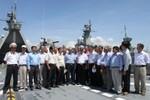 Thăm Vùng 4 Hải quân tại căn cứ Cam Ranh tỉnh Khánh Hòa